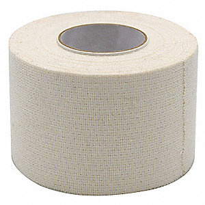 First Aid Tape,White,3 In. W,10 yd L