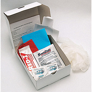 "Biohazard Spill Kit, 33 oz., 5-1/2 x 2-1/2"", Box"