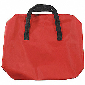 Emergency Road Bag,Red,Nylon