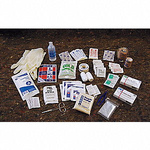 First Aid Kit Refill,Bulk,41Pcs,100 Ppl