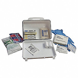 First Aid Kit,Bulk,White,93 Pcs
