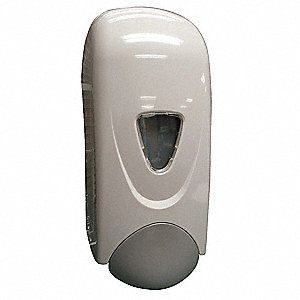 Soap Dispenser,1000mL,White