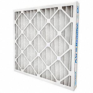 25x25x1 Synthetic Pleated Air Filter with MERV 13