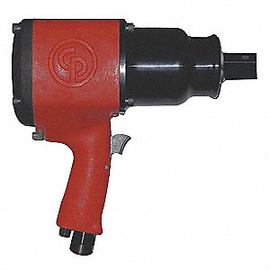 "Industrial Duty Air Impact Wrench, 1"" Square Drive Size 900 to 1800 ft.-lb."