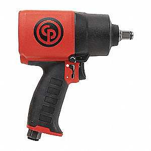 "General Duty Air Impact Wrench, 1/2"" Square Drive Size 100 to 522 ft.-lb."
