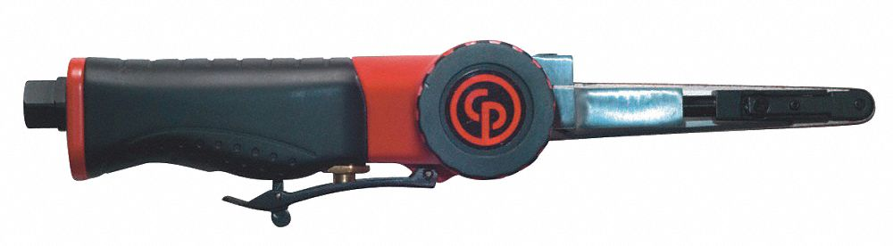 3/8 in W x 13 in L, 0.35 hp HP Industrial Air Belt Sander
