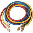 CHARGING HOSE SET 72 IN YELLOW RED