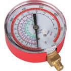 GAUGE 3-1/8IN RED R410-A DRY