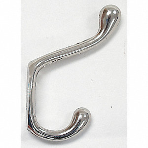 HEAVY DUTY COAT HOOK CHROME