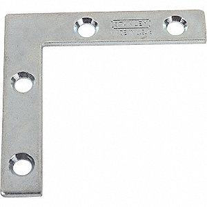 FLAT CORNER BRACE STEEL 6 IN W