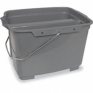 DOUBLE PAIL GRAY 17QT