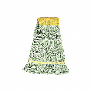 MOP ECHO WIDE BAND XLGE GREEN