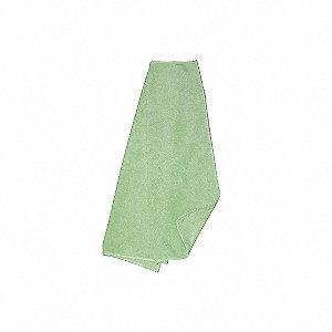 CLOTH MICROFIBER GREEN 12/PK