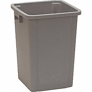 SQUARE CONTAINER GRAY 19 G