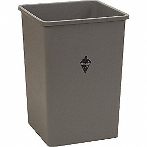 SQUARE CONTAINER GRAY 50 G