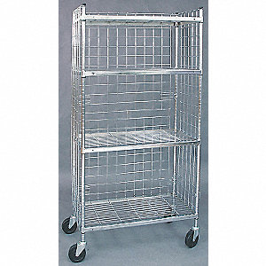 CART,WIRE,3 SIDED
