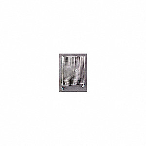 Wire Security Cart,900 lb.,40-3/4In. L