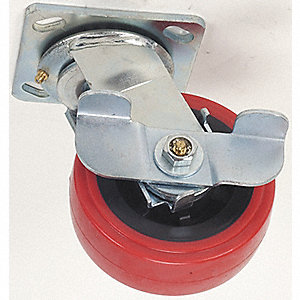 SWIVEL CASTER 5IN 750LB PLYURTHN