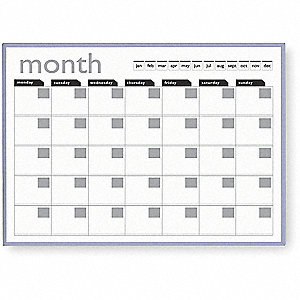 MAGNETIC MONTHLY PLANNER,36X24 IN