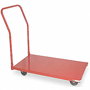 CART UTILITY STEEL 24X42 5IN CASTER