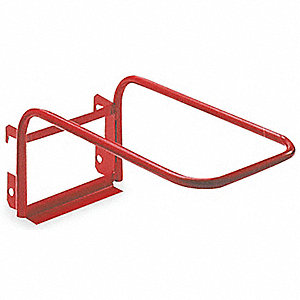 Folding Chair Kit,Steel,Red,13-1/2 in W