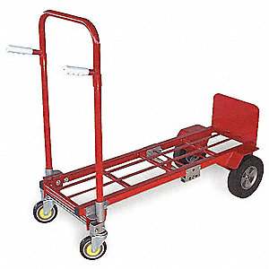 Convertible Hand Truck,H 61-3/4 In