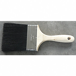 WALL BRUSH BLACK SIZE 4 IN