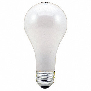 75 Watts Incandescent Lamp, A21, Medium Screw (E26), 750 Lumens, 2800K Bulb Color Temp.