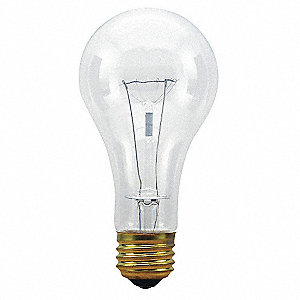 Incandescent Light Bulb,A21,150W