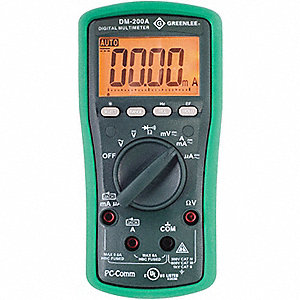 MULTIMETER DIGITAL AUTORANG AC DET