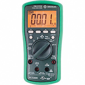 MULTIMETER DIGITAL DUAL TEMP LOOP