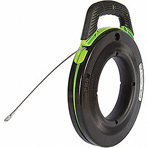 FISHTAPE STEEL-150FT W/LEADER