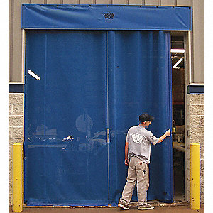 DOOR MESH  MANUAL SLIDE 12FT  X 10