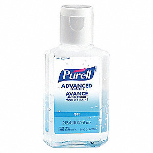 HAND SANITIZER INST PURELL 2OZ CAN