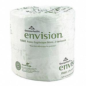 TISSUE BATHROOM 2-PLY EMBSD 80RL/CA