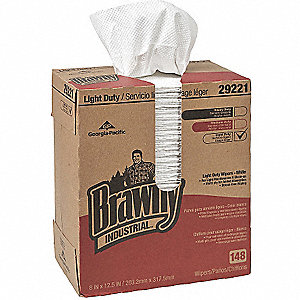 LIGHT DUTY 2-PLY PAPER WIPERS 20/CA