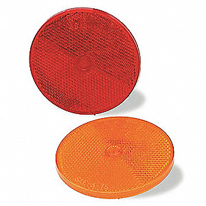 REFLECTOR 2IN SEAL CENTRE MOUNT RED