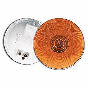 LAMP SEALED RND 4IN FEM PIN AMBER