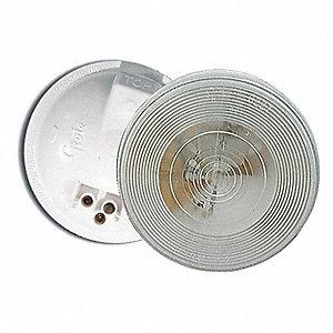 LAMP GROMMET + PLUG OVAL CLEAR