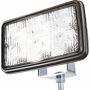 LAMP WORK LED CLEAR TRAPEZOID PATT