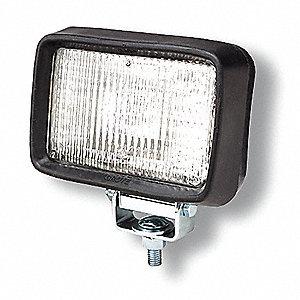 LAMP WORK RUBB RECT SPOT 4X6IN