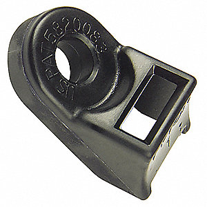 TIE MOUNT HD BL .250IN 115LB 25/PK