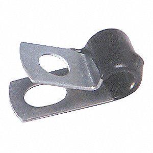CLAMP VINYL INSULAT 1/4IN ID 15/PK