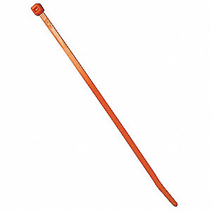 CABLE TIES 8IN ORANGE 25/PK
