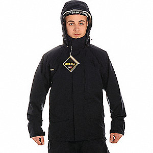COAT GORE-TEX EXEC CORPORATE BLK