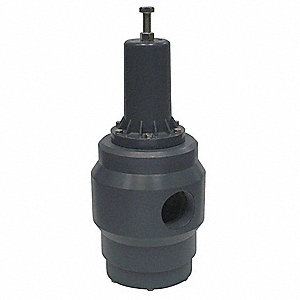 "PRH Series 7""L Polypropylene Pressure Regulator, 10 to 125 psi"