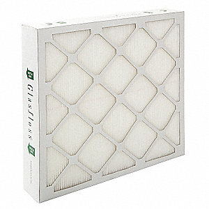 20x20x4  MERV 14 Air Cleaner Filter, Frame Included: Yes