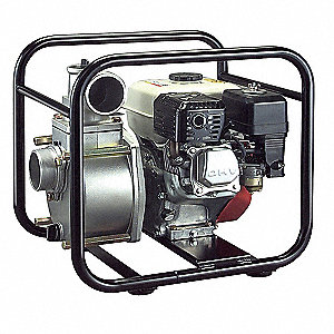4.8 HP Aluminum 163cc Engine Driven Semi-Trash Pump, 3.28 qt. Tank Capacity