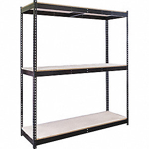SHELVING RIVETWELL W/PART BRD DECK