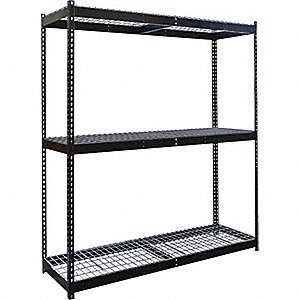 SHELVING RIVETWELL W/WIRE DECK